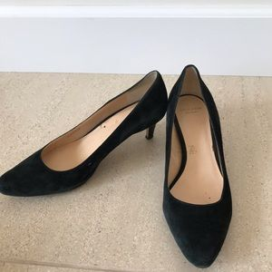 Cole Haan black suede pumps